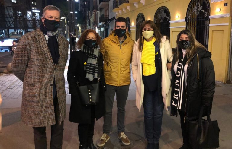 Laura Borràs visita Granollers per enfortir Junts