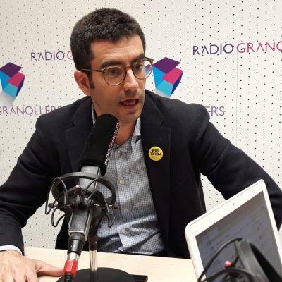 Àlex Sastre, candidat de Junts per Granollers